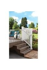 Studio District Veranda Classic 6 ft. White Stair Rail Kit