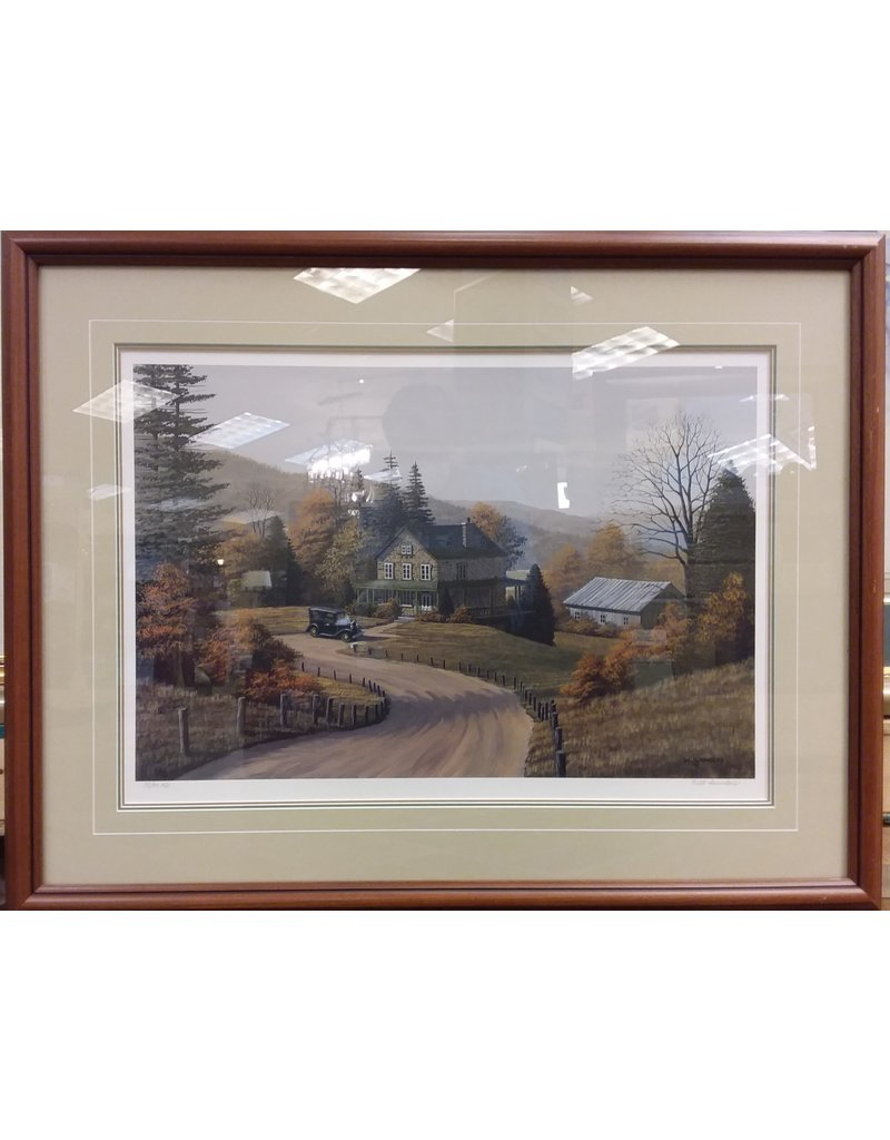 """Vaughan Signed Lithograph """"Old Classics"""" by Bill Saunders"""