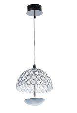Vaughan 4 inch Polished Chrome Pendant Ceiling Light