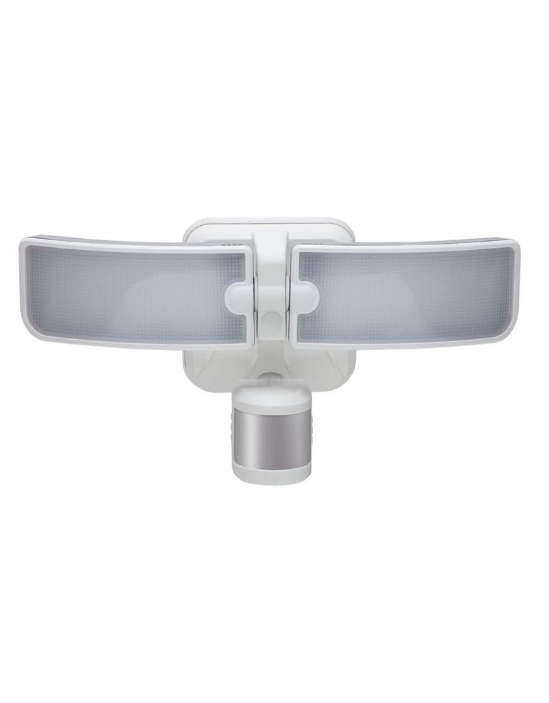 North York 180-Degree White LED Outdoor Motion Security Light