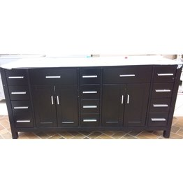 Vaughan 75'' KALIZE Vanity - Black