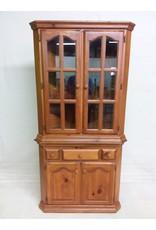 Studio District Pine corner cabinet