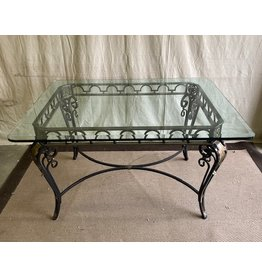North York Glass table dining set