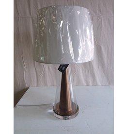 North York Glass cone Lamp