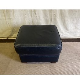 North York Leather foot stool