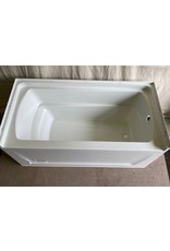 North York Right side wall mount tub