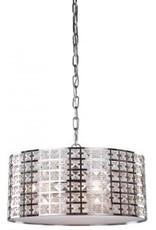 Studio District Coventry 3 Light 15 inch Chrome Chandelier Ceiling Light