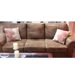 Vaughan 3 Seater Chocolate Brown Sofa