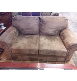 Vaughan 2 Seater Chocolate Brown Loveseat