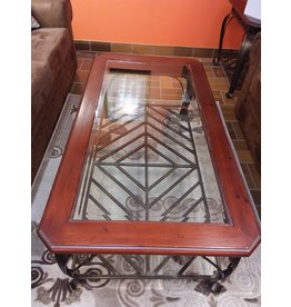 Vaughan Glass Top Coffee Table