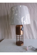 North York Table lamp cage style