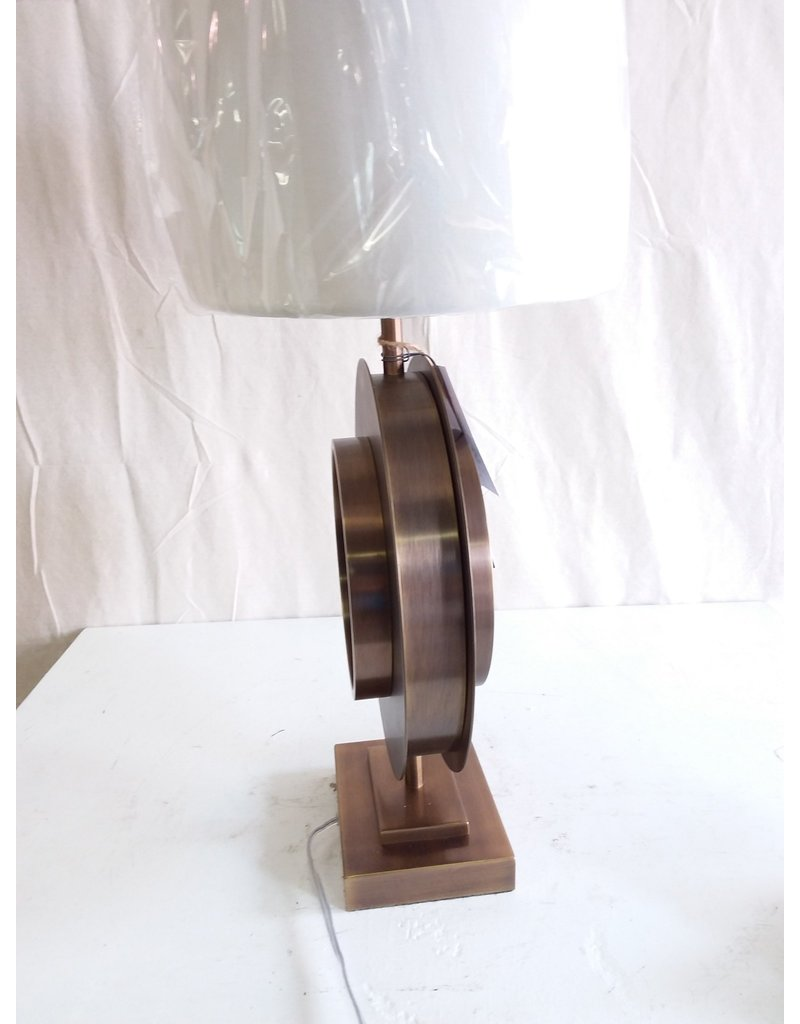North York Table lamp stone circle style