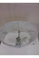 North York Curved crystal style table lamp
