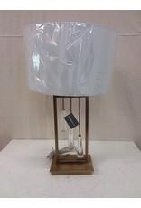 North York Crystal pendant table lamp