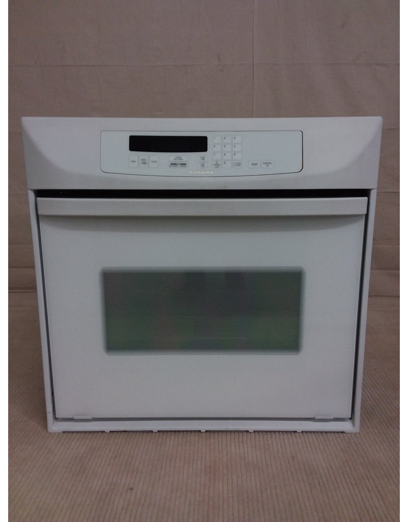 Studio District KitchenAid white wall oven