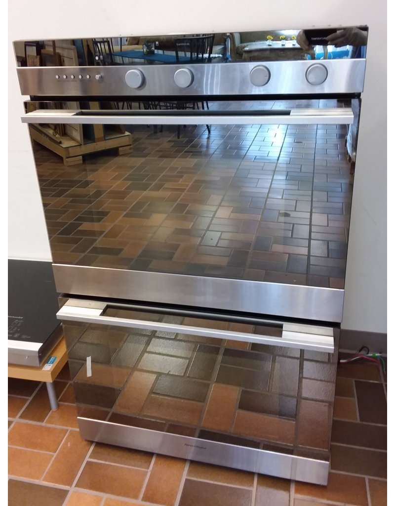 Vaughan Fisher & Paykel 3.5 cu. ft. Stainless Steel Double Electric Wall Oven