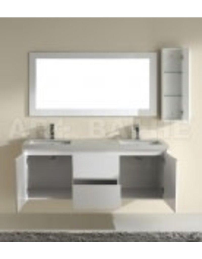 Vaughan BARROS 63 Glossy White Vanity + Mirror