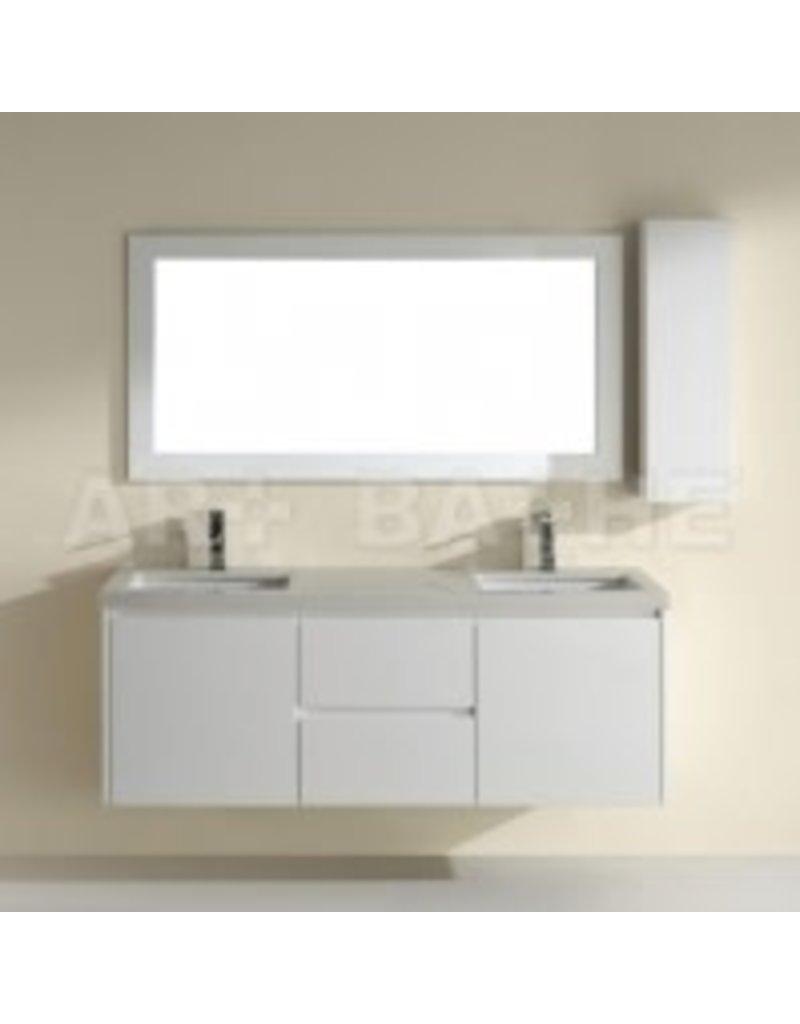 Vaughan White Framed Wall / Floor Mirror