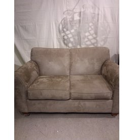 Vaughan Taupe Micro-fibre Sofa