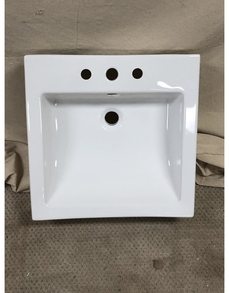 East York Square wall mount sink