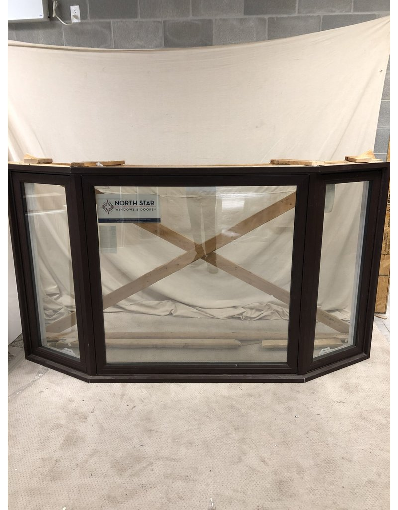 "East York Brown Bay Window 54.5""X 96"""