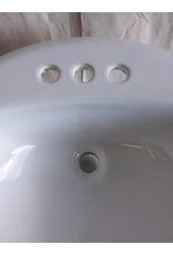 North York Ceramic drop-in bathroom sink