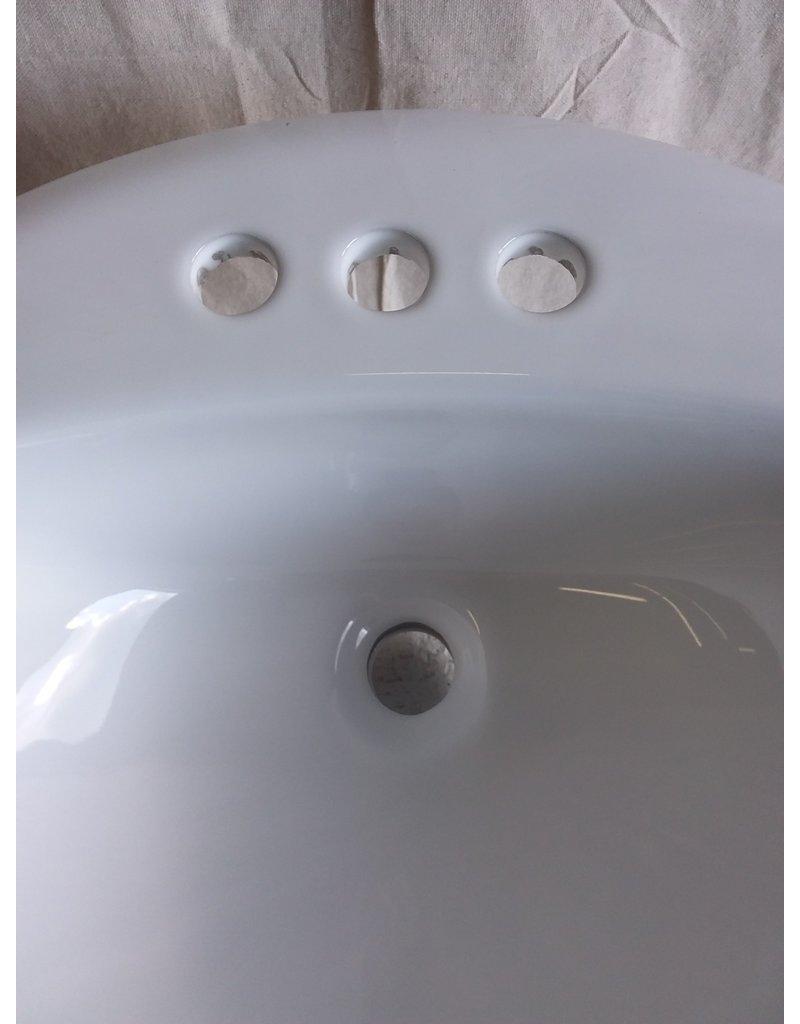 North York Ceremic drop-in bathroom sink