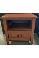 Markham West Side table with single drawer