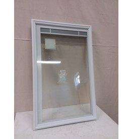 North York Masonite window insert with internal blinds22-inch x 36-inch