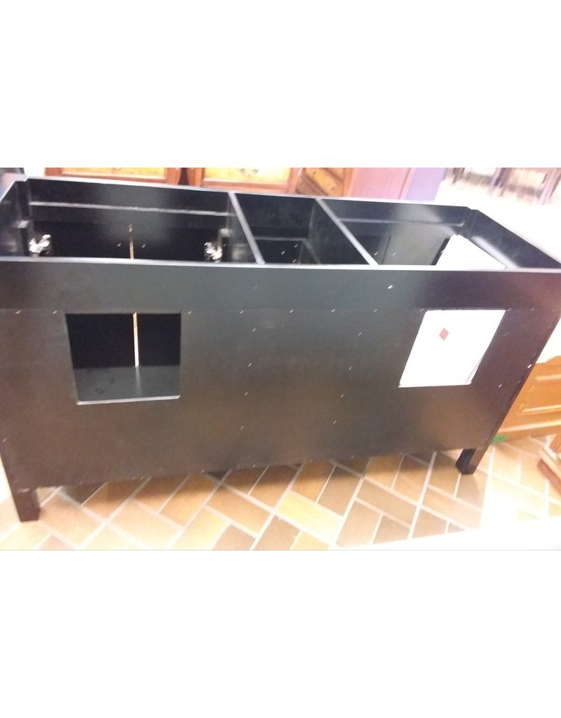 Vaughan Novoiche 63'' Double Bath Vanity -Black
