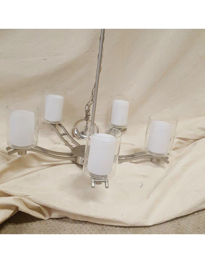 East York Five light chandelier - Chrome