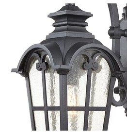 Brampton Black Outdoor Wall Lantern