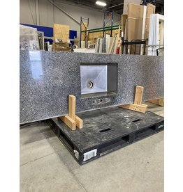 Markham West Grey Granite Counter with Sink