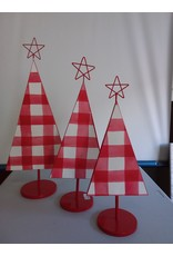 Studio District Metal Sheet Christmas Tree Set