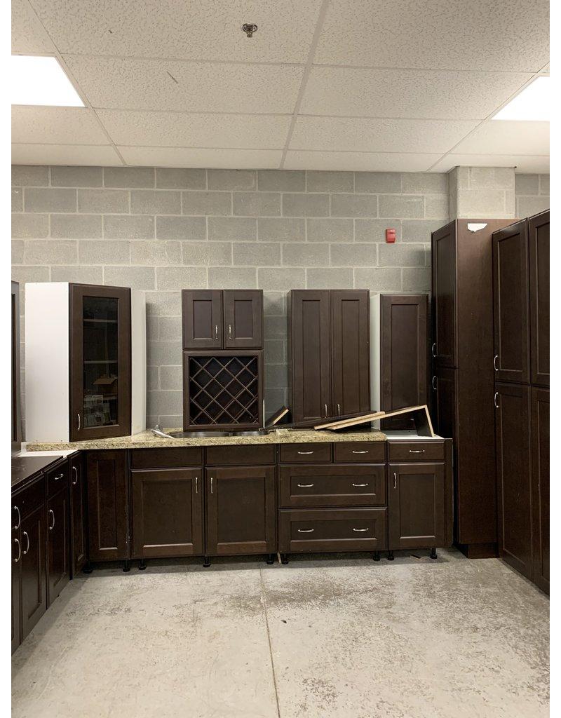 East York Brown Kitchen