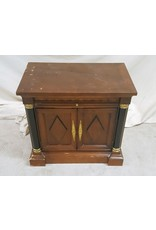 East York Cabinet with brass accents
