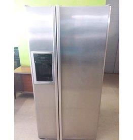 North York GE stainless steel fridge