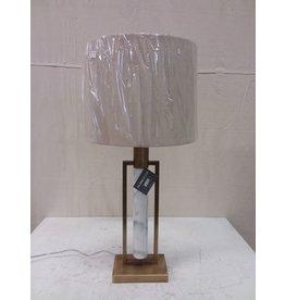 North York Gold Marble Lamp