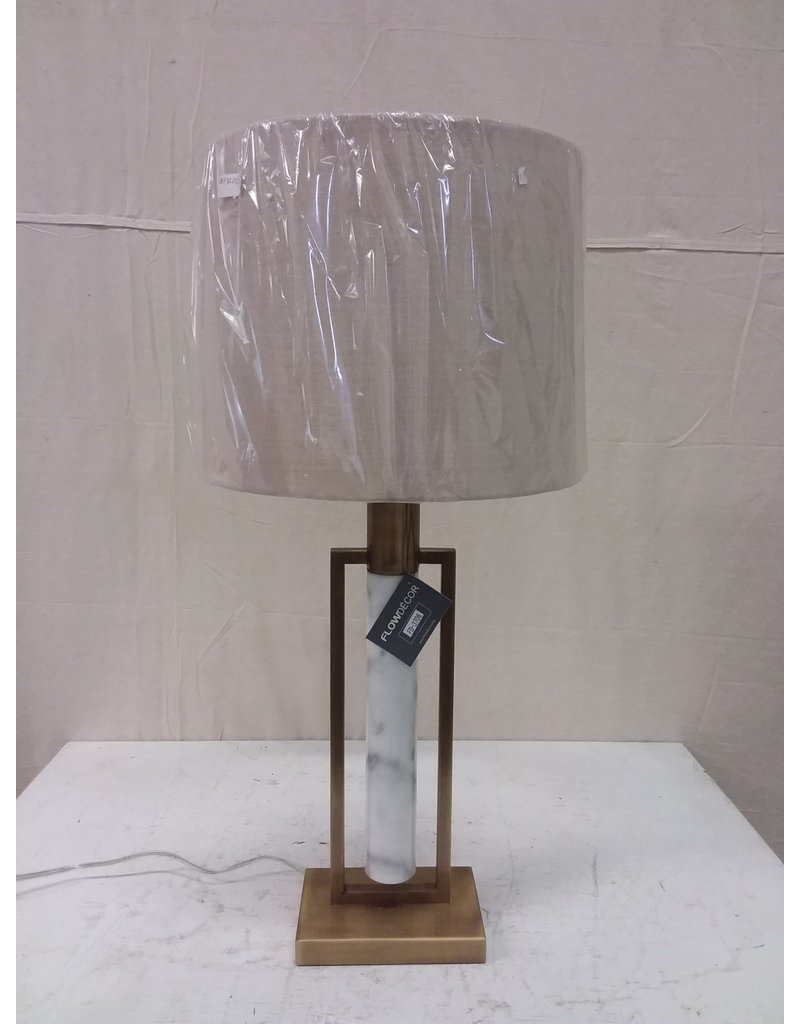North York Gold Marble Lamp