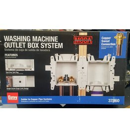 East York Washing machine outlet box system