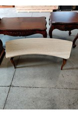 Markham West Coffee table with stone top