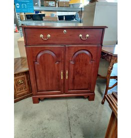 Markham West Solid wood storage cabinet