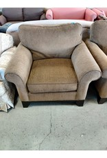 Markham West Brown Arm Chair