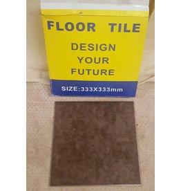 East York Dark brown floor tile - ceramic
