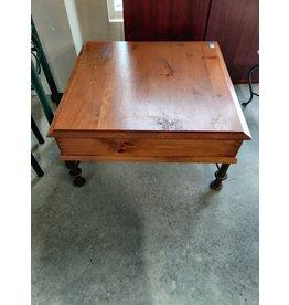 Markham West Dark Wood Coffee Table