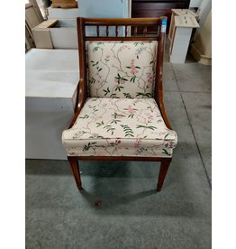 Markham West Old Style Floral Chair