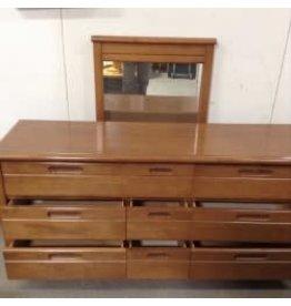 Studio District Solid Wood Dresser & Mirror