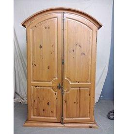 Studio District Pine Wood Cabinet