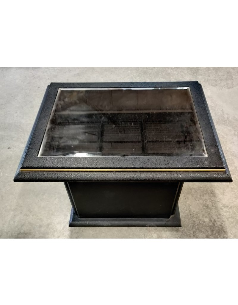 Markham West Mirror glass side table