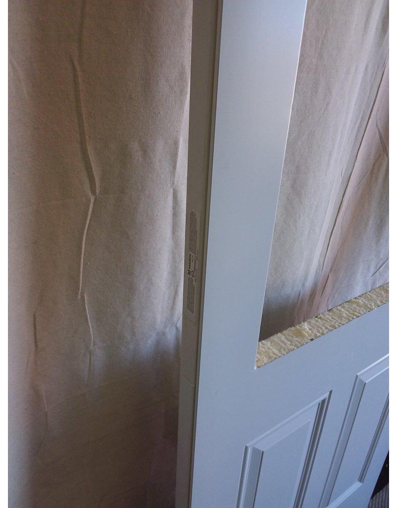 """North York Steel exterior door with cutout 29 3/4"""" x 79"""""""